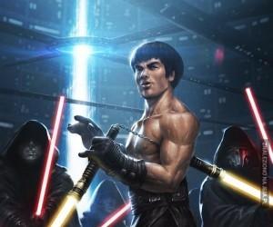 Bruce Lee jako Jedi