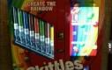 Maszyna, która pozwoli Ci skomponować własną paczkę Skittlesów