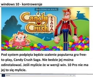 Kontrowersyjny Windows 10