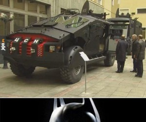 Nowe samochody rosyjskich służb