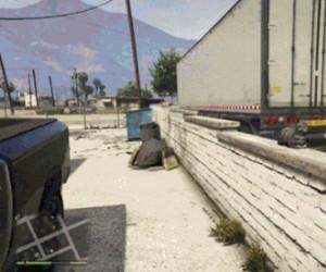 Straszenie kota w GTA V