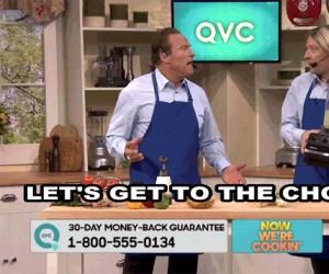 Arnold w programie kulinarnym?