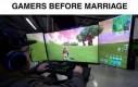 Małżeństwo zmienia graczy
