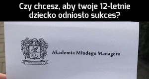 Akademia Młodego Managera