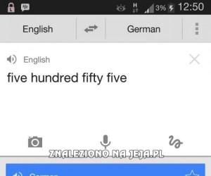 Co ten tłumacz...