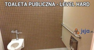 Toaleta publiczna - Level Hard