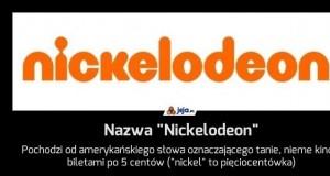 """Nazwa """"Nickelodeon"""""""