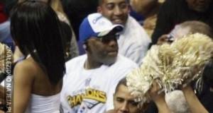 Obama na meczu