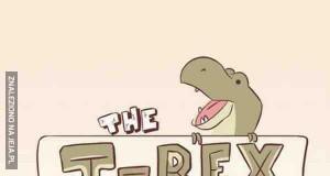 T-Rex - Rysunkowy poradnik eksperta