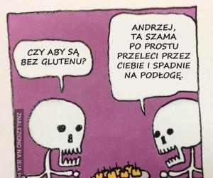 Szkielety nie muszą martwić się dietą