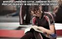Jennifer Lawrence czyta