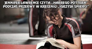 "Jennifer Lawrence czyta ""Harrego Pottera"""