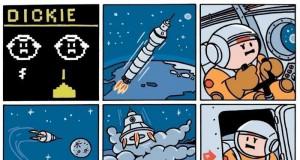 Pierwsze kroki na Księżycu