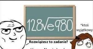Zadanie matematyczne