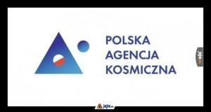 Oto nowe logo Polskiej Agenci Kosmicznej
