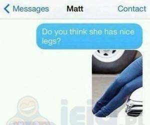 Ładne nogi?