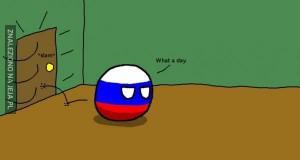 Kolejny dzień w życiu Rosji