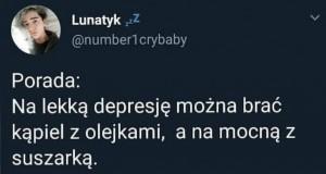 Zniknie depresja i wszystkie inne choroby, z życiem włącznie