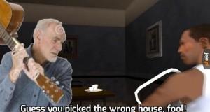 Legendarna scena i znajomy staruszek