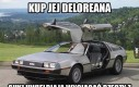 Kup jej Deloreana