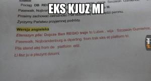 Łelkom in Polant