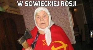 W sowieckiej Rosji