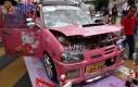 Samochód Hello Kitty