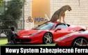 Nowy system zabezpieczeń Ferrari