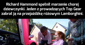 Wspaniały gest Richarda Hammonda