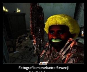 Fotografia mieszkańca Szwecji