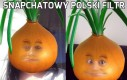 Snapchatowy polski filtr
