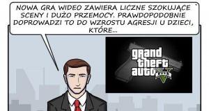 GTA V... i media oszalały