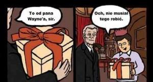 Prezent od pana Wayne'a