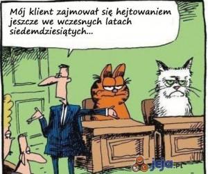 Garfield był pierwszy, Grumpy to oszust
