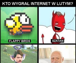 Kto wygrał internet w lutym?