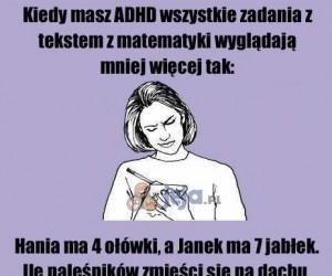 Matma z ADHD