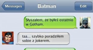 Batman spina się do Supermana