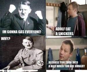 Snickers dla Adolfa