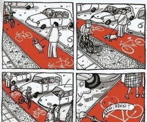 Na ścieżce rowerowej