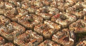 Barcelona z lotu ptaka