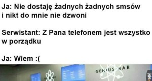 Zepsuty telefon