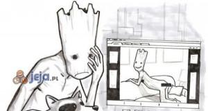 Fotki Groota też wyciekły