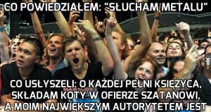 Problemy fanów metalu
