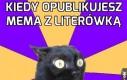 Kiedy opublikujesz mema z literówką