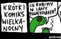 Krótki komiks wielkanocny