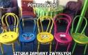 Pomysłowość i krzesła