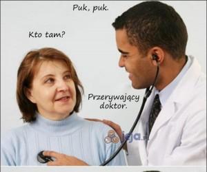 Przerywający doktor