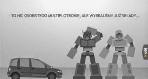 Multiplotronie, to nic osobistego!