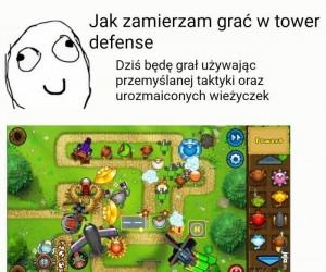 Taktyka w Tower Defensach