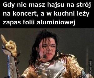 Michael i jego strój